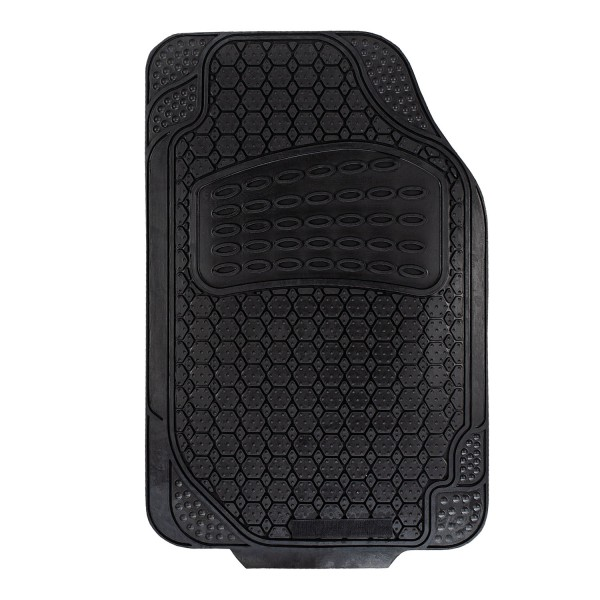 Gummi-Fußmatten schwarz Fahrerseite universal