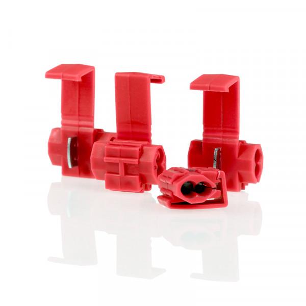 Klemm-/Abzweigverbinder rot 0,5-1,0mm² 5St.
