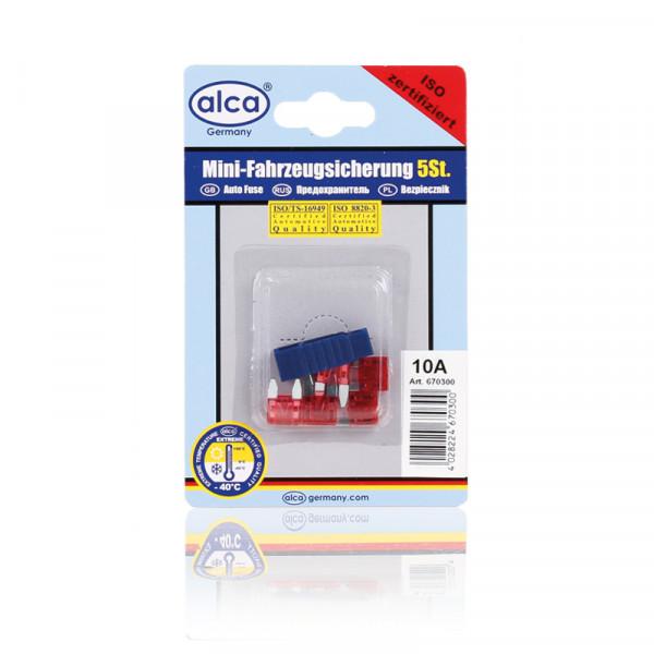 Mini-Sicherungen 10A 5St. Blister