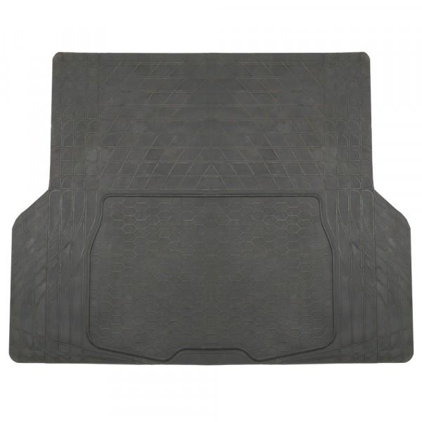 Kofferraummatte Gummi 140x108 cm schwarz