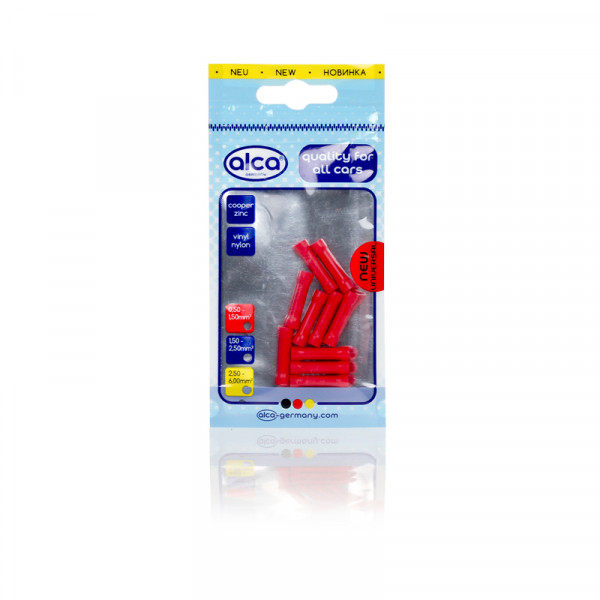 Stoßverbinder rot 1,7mm 10St.